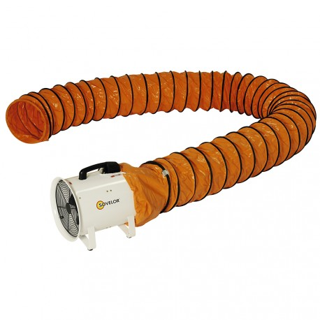 Gaine souple 12 m pour ventilateur extracteur Sovelor V300