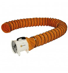 Gaine souple 12 m pour ventilateur extracteur Sovelor V600 - V603