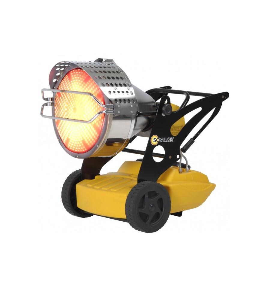 chauffage mobile radiant au fuel flash 1 sovelor. Black Bedroom Furniture Sets. Home Design Ideas