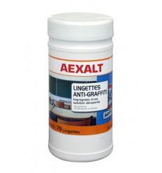 LINGETTES ANTI-GRAFFITI - Seau 70 lingettes Aexalt