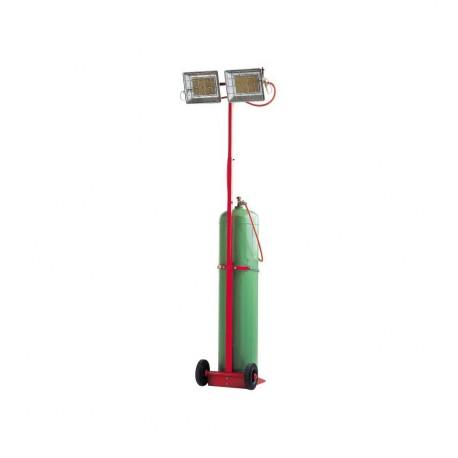 Chauffage mobile radiant au gaz SOLOR 8500 MCA