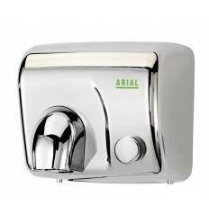 Sèche-mains à bouton en inox - 2 300 W ICA