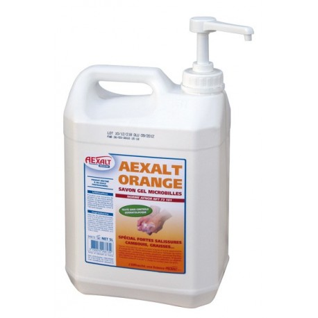 AEXALT ORANGE - 4,5L avec pompe
