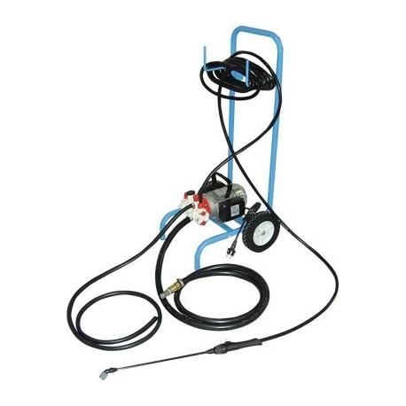 Motopompe de pulv risation sur chariot pour produits acides - Pulverisateur electrique pour toiture ...