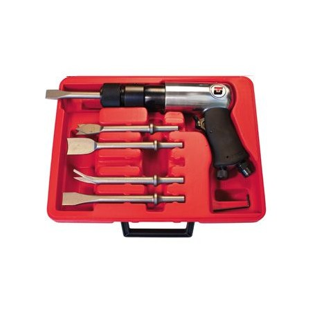Coffret pistolet burineur pneumatique UT8612BK