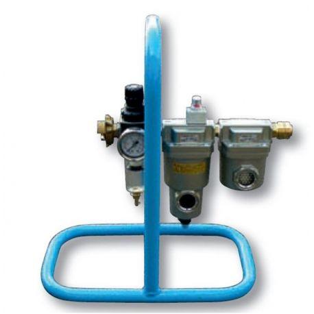 Filtre respiratoire pour casque de sablage