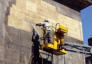 hydrogommage de façade